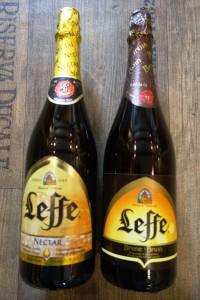 Leffe Nectar und Brune gr